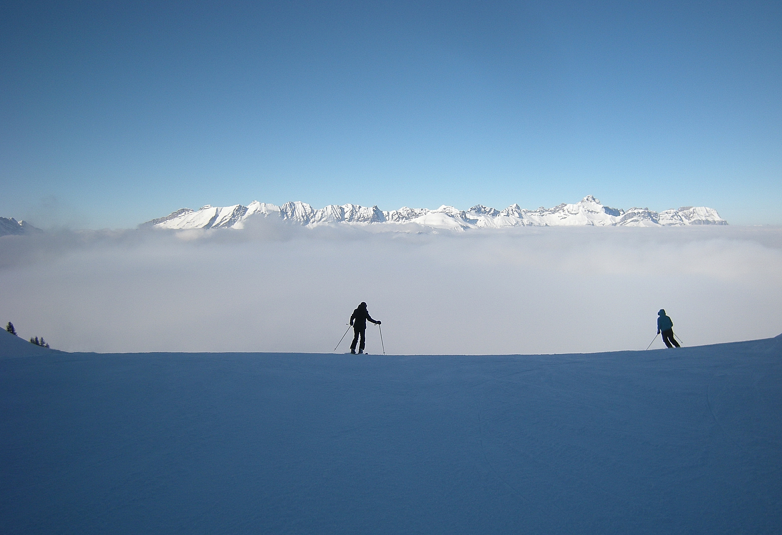 It's going to be cold in the inversion!, Saint Gervais