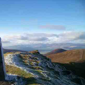 Knockmealdown summit looking towards Sugarloaf., Knockmealdown (Knockmealdown Mts)