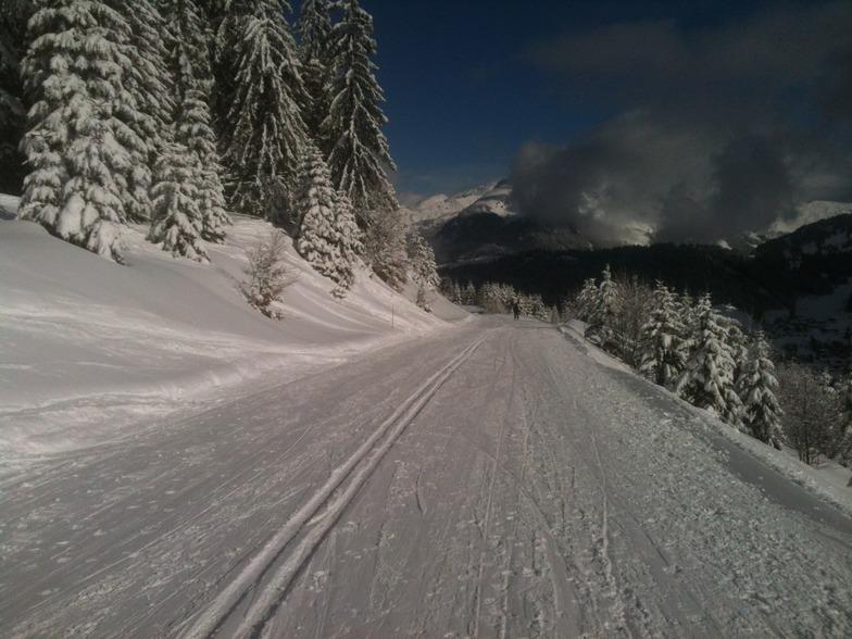 Mont Chery MTB route, Les Gets