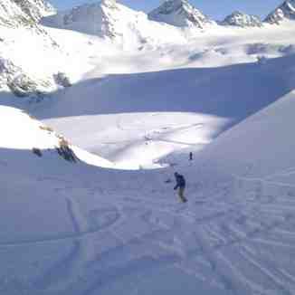 Pitztal Snowboarding, Pitztal Glacier