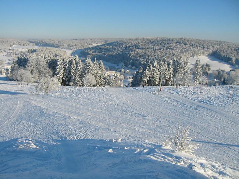 Tettau snow