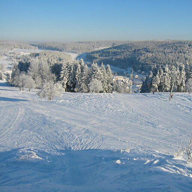 """Tettau - View from the """"Dreitausender"""" -  Wildberglift"""