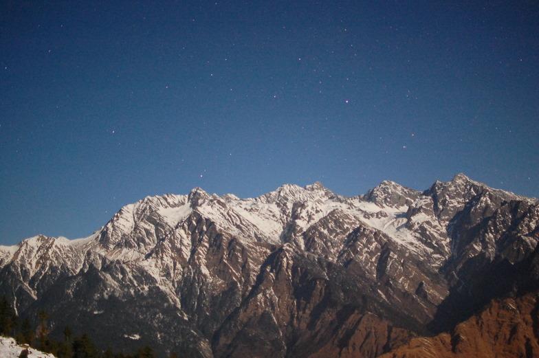 peaks at night, Auli