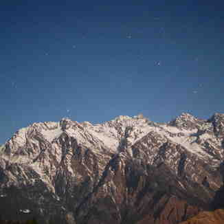 peaks at night, Auli