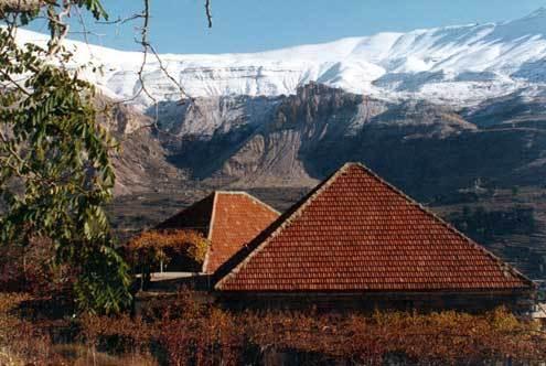 view from bcharre,lebanon, Mzaar Ski Resort