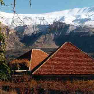 view from bcharre,lebanon, Mzaar Ski Resort