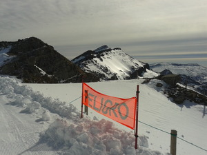 Sol y nieve dura, Alto Campoo photo