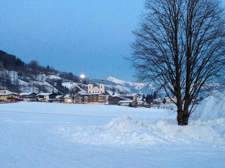 Brixen im Thale snow