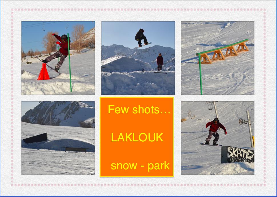 lebanon snow park in laqlouq