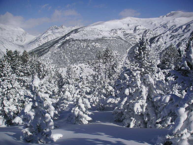 The silence of the mountain, Grandvalira-Soldeu