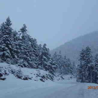 Δρομος προς Χ.Κ.Καλαβρυτων, Kalavryta Ski Resort
