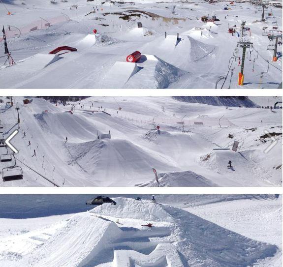 SWUP snowpark Campo Felice, Campo Felice-Rocca di Cambio