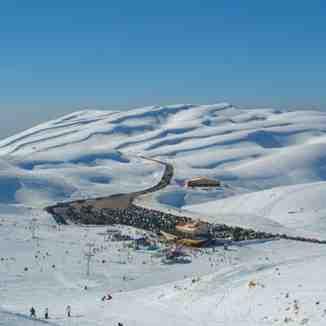 Faraya mzaar,lebanon, Mzaar Ski Resort