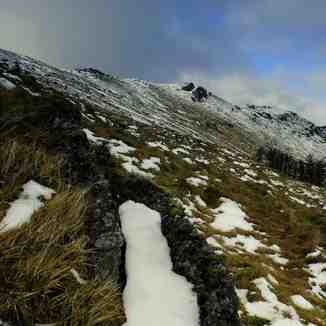 Northern slopes,Knockanaffrin ridge,Comeragh mountains., Knockanaffrin (Comeragh Mts)
