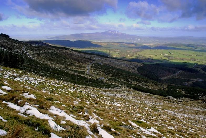 Northern slopes,Knockanaffrin ridge,Comeragh mts., Knockanaffrin (Comeragh Mts)