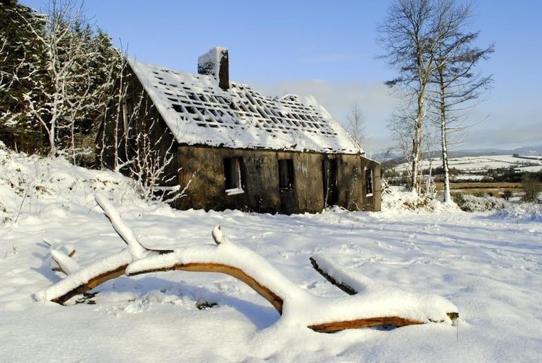 Knockanaffrin (Comeragh Mts) snow