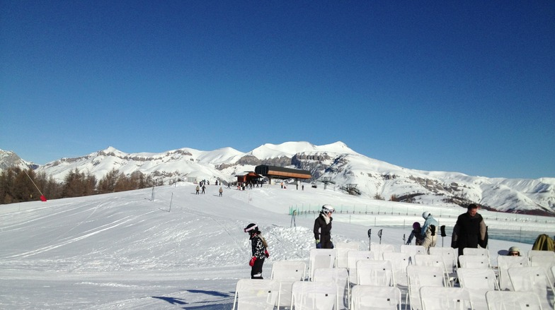 Valberg snow