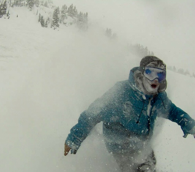 Face Shot, Stevens Pass