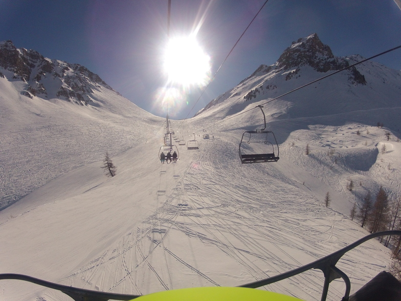 a perfect day on Monetier les bains, Serre Chevalier