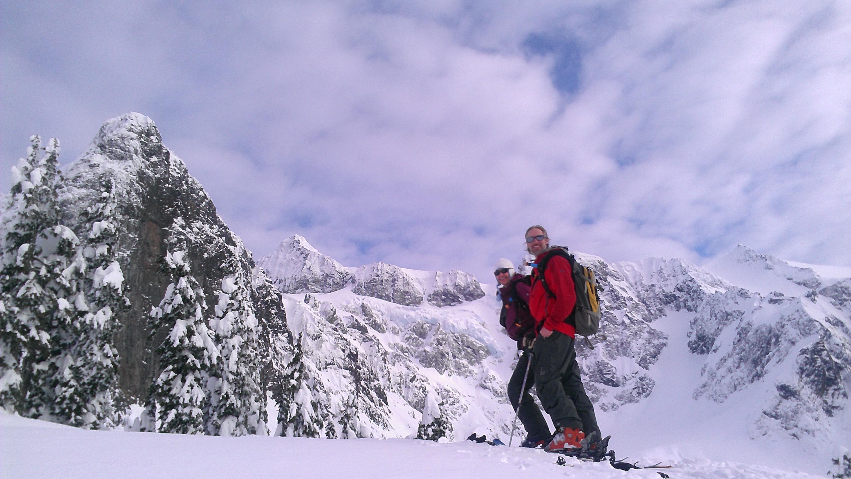 the back of Mt. Shucksan, Mount Baker