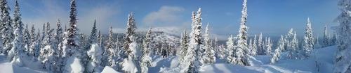 Sheregesh Ski Resort by: Leon Walker