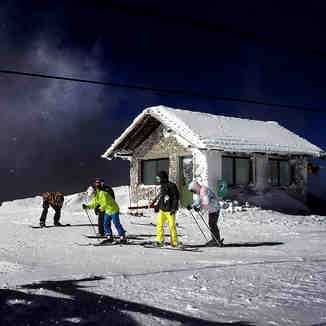 Helmos like  moon!, Kalavryta Ski Resort