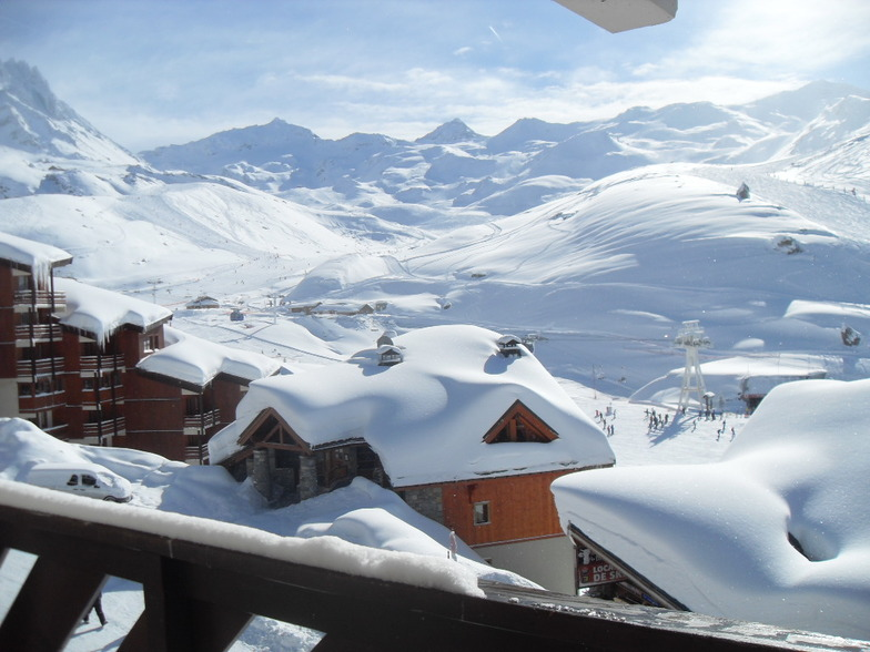The highest resort in France is Val Thorens