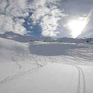Beyond the groomed line, Obergurgl