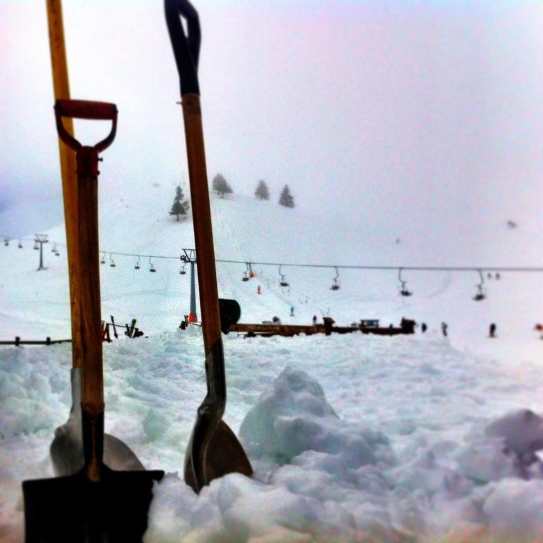 work day!!!, Kalavryta Ski Resort