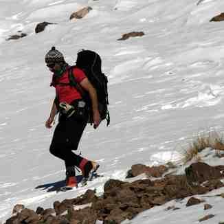 Ali   Saeidi   NeghabeKoohestaN, Mount Damavand