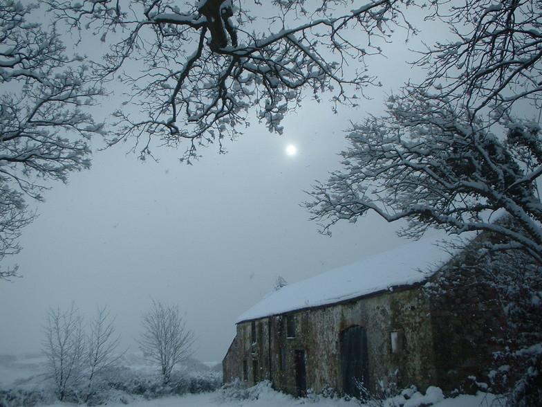 Gower Snowfall - Winter 2004, Pen-y-Fan