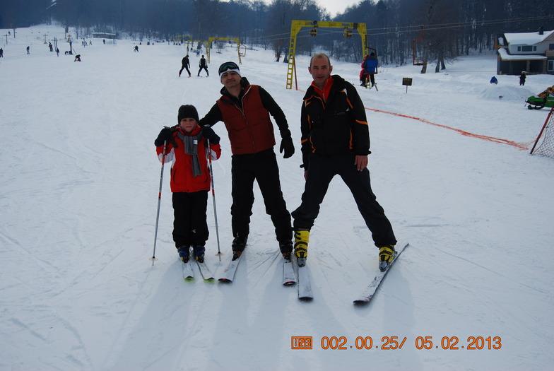 Ski lesson, Bakuriani