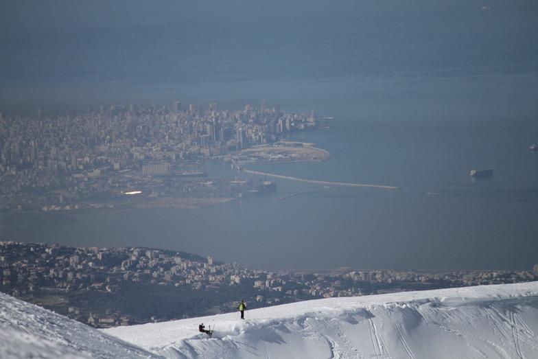 top of mzaar slope, Mzaar Ski Resort