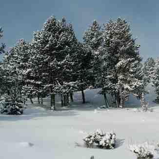 Una buena nevada, Font Romeu