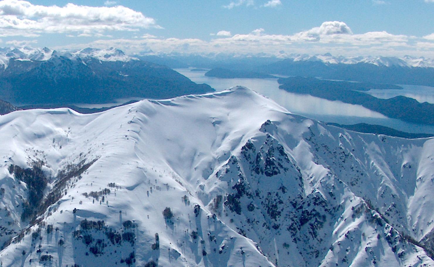 Centro de esqui Cerro Catedral, paisajes