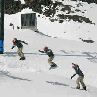 Backside 180 at Turoa - 14 Sept 05