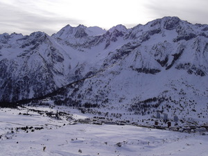back to town, Passo Tonale photo
