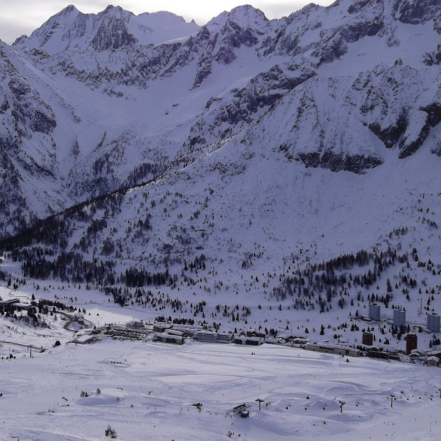 back to town, Passo Tonale