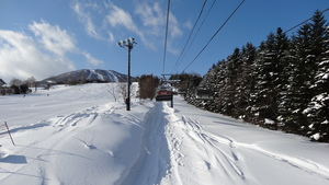 First tracks at Appi., Appi Kogen photo