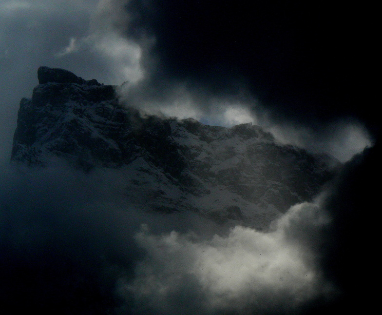 Heavy Storm Couds, Samoens