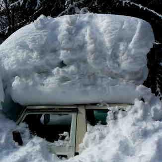 Slightly more than a days snowfall!!, Samoens