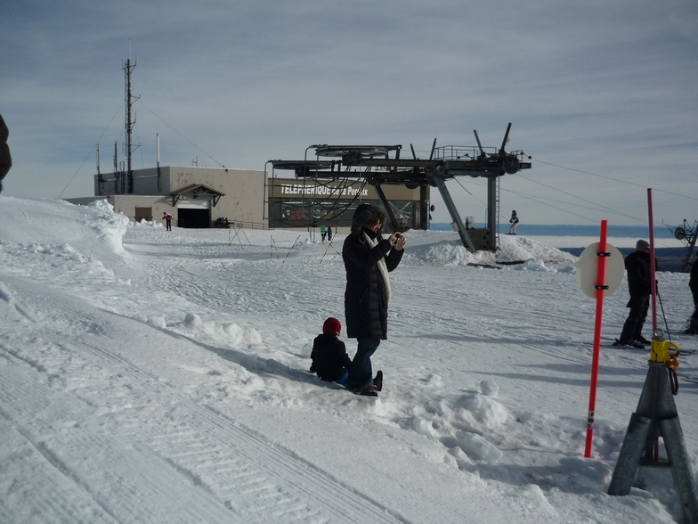 Summit of telepherique de la Perdrix, Besse Super Besse