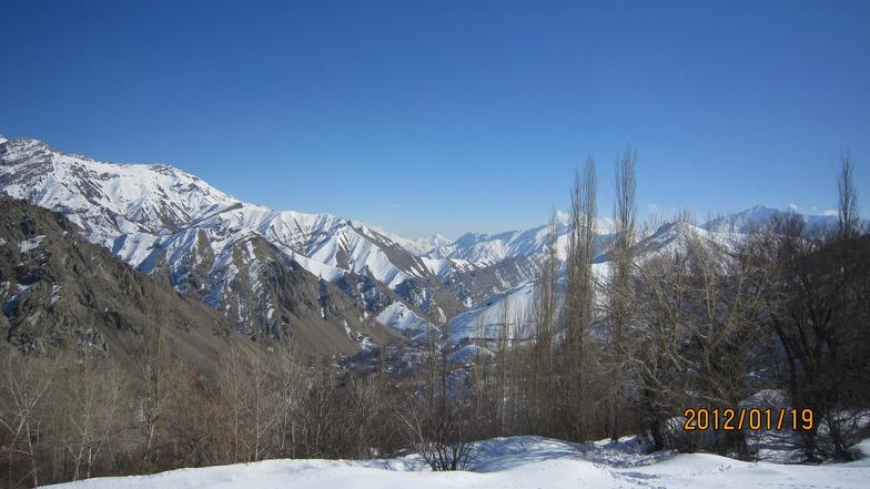 روستاي كلوان, Dizin