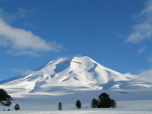 lonquimay volcano, Chile, Cerro Castor photo