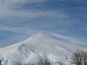 villarica volcano, chile, Villarrica-Pucon photo