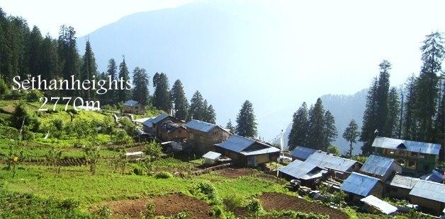 sethan village, Manali (Himachal Heli-Ski)