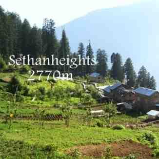 sethan village, Himalaya Heliski