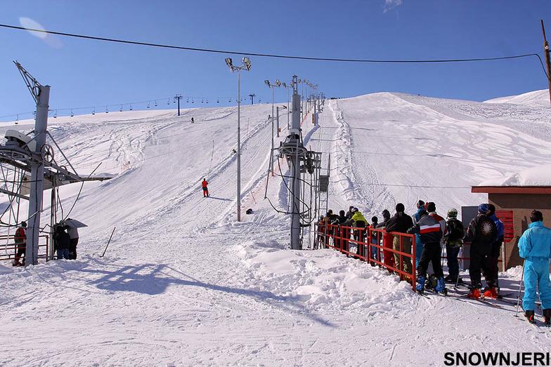 The lowest skilift, Popova Shapka