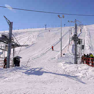 The lowest skilift, Popova Shapka