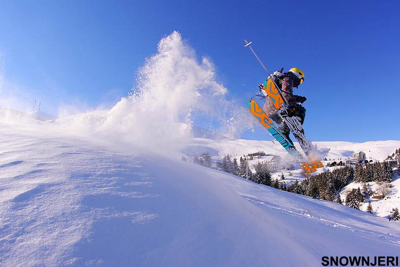 Rocking the slopes, Popova Shapka